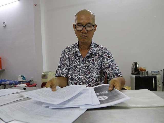 Chiêu giẳ mạo giấy tờ sổ đỏ gốc- Ông Trần Anh Kiệt nạn nhân