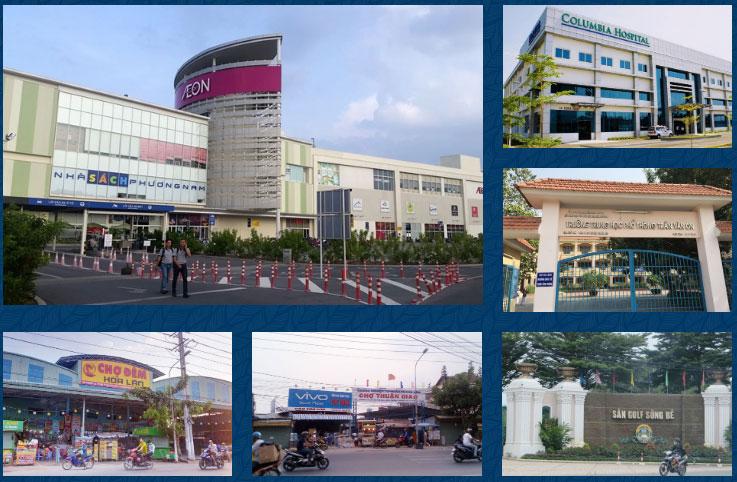 Tiện ích dự án Lộc Phát Residence