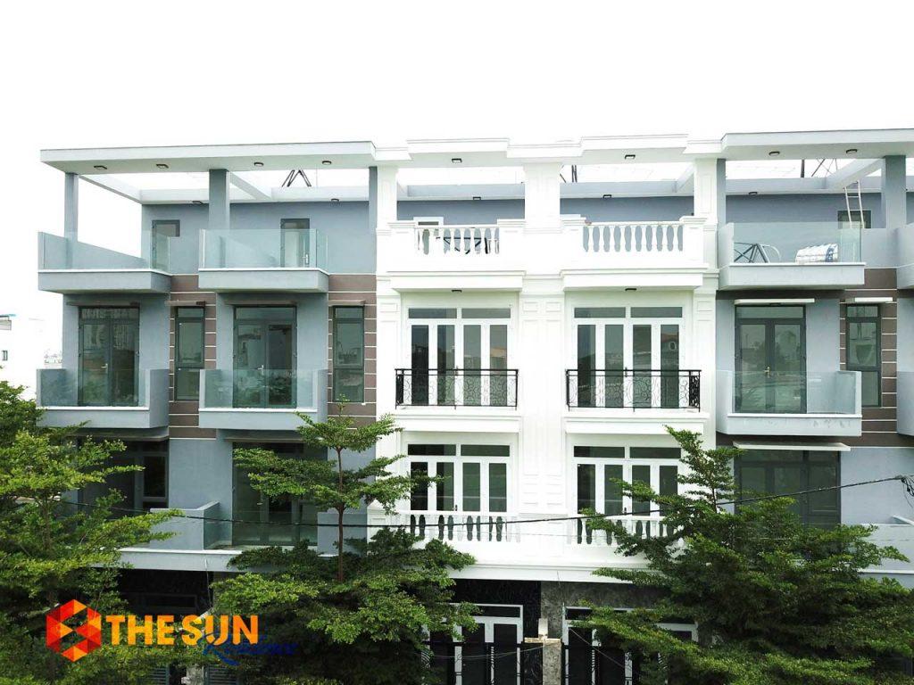 Nhà thực tế tại dự án The Sun Residence Nhà Bè