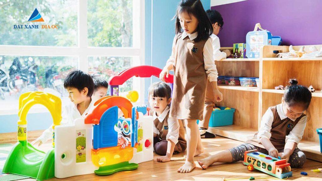 Tiện ích nhà trẻ - khu vui trơi trẻ em
