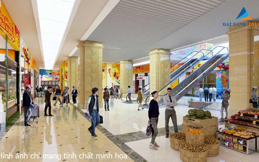 Trung tâm thương mại tại căn hộ Eco Smart City Cổ Linh